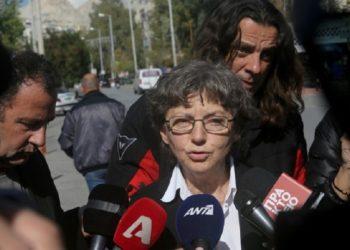 Η Ιωάννα Κούρτοβικ, συνήγορος υπεράσπισης του Δημήτρη Κουφοντίνα (φωτ. αρχείο: ΑΠΕ-ΜΠΕ / Γιάννης Κολεσίδης)