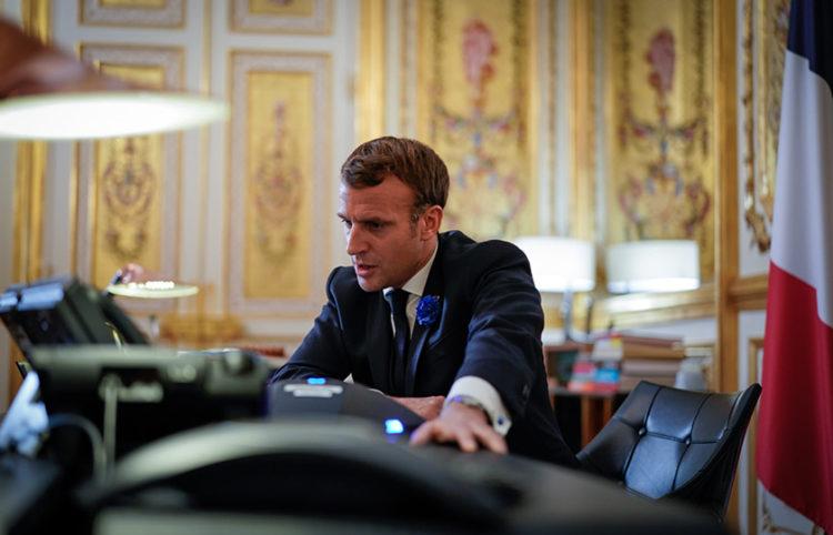 (Φωτ.: Facebook / Emmanuel Macron)