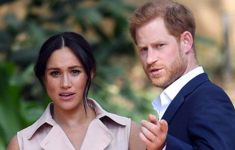 Ο πρίγκιπας Χάρι με τη σύζυγό του Μέγκαν Μαρκλ (φωτ. αρχείου: EPA/ Facundo Arrizabalaga)
