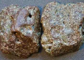 Κομμάτια του μετεωρίτη Erg Chech 002 (φωτ.: Flickr/ Steve Jurvetson)
