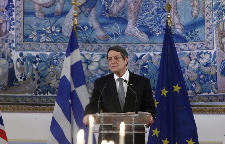 Ο Πρόεδρος της Κύπρου Νίκος Αναστασιάδης (φωτ.: ΑΠΕ-ΜΠΕ/ Αλέξανδρος Βλάχος)