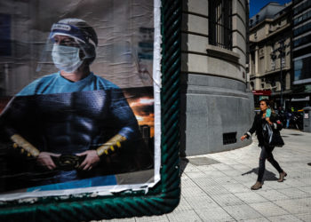 (Φωτ.: EPA / Juan Ignacio Roncoroni)