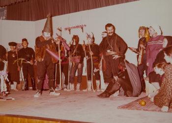 Παράσταση το 1978 στην Καλλιθέα για την 50ή επέτειο από την ίδρυση της Επιτροπής Ποντιακών Μελετών (φωτ.: Επιτροπή Ποντιακών Μελετών)
