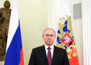 (Φωτ.: EPA / Mikhail Klimentyev / Sputnik / Kremlin POOL)