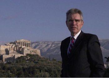 Ο Αμερικανός πρέσβης Τζέφρι Πάιατ (φωτ.: ΑΠΕ-ΜΠΕ/ STR)