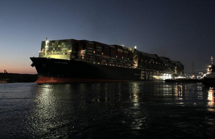 (Φωτ.: ΑΠΕ-ΜΠΕ/ Suez Canal Authority)