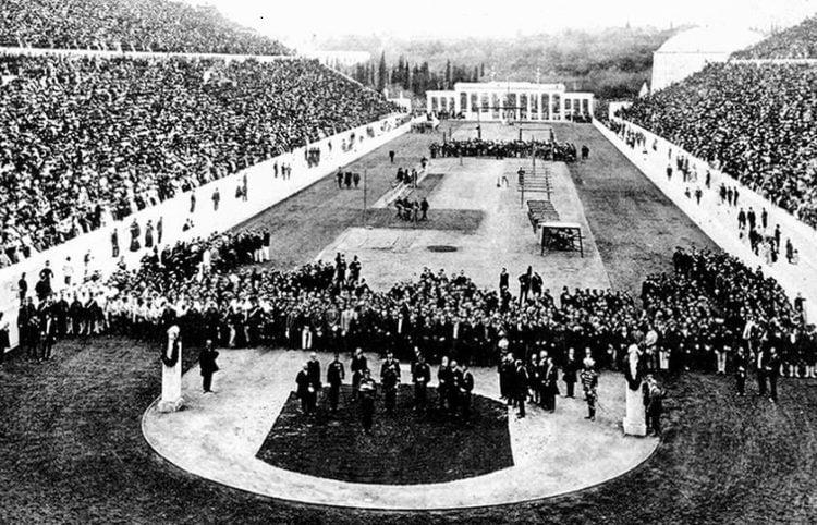 Η τελετή έναρξης των Ολυμπιακών Αγώνων το 1896 στο Καλλιμάρμαρο