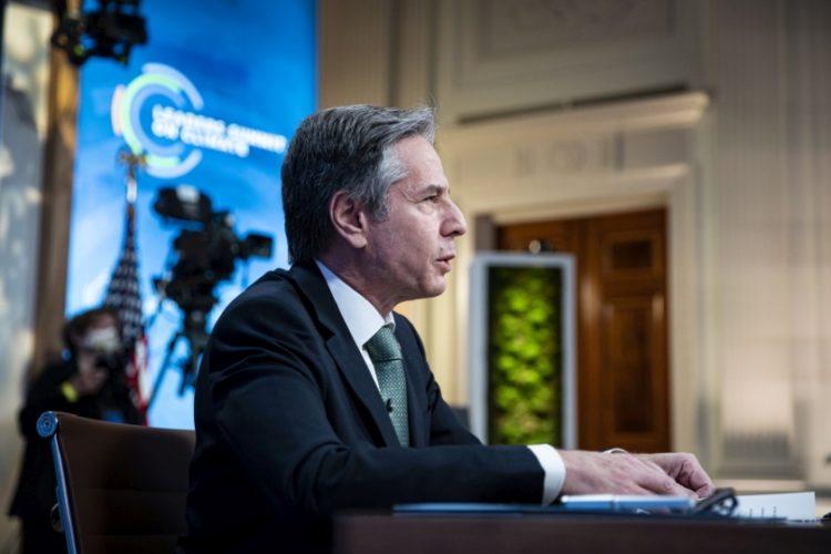Ο υπουργός Εξωτερικών των ΗΠΑ (φωτ.: EPA/AL DRAGO / POOL)