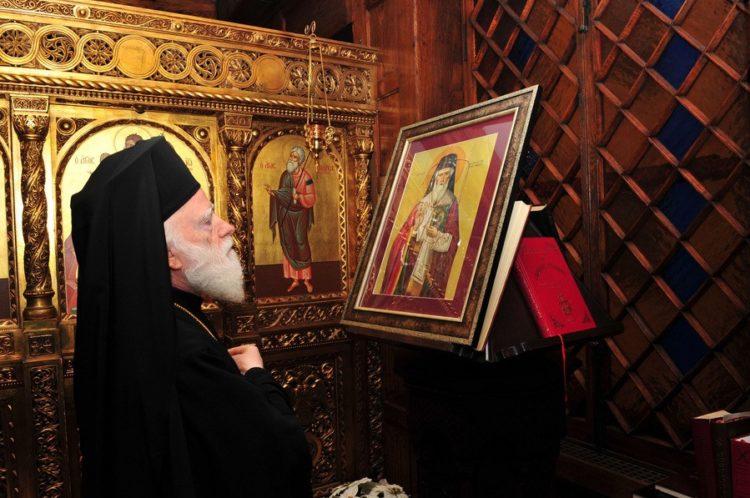O Αρχιεπίσκοπος Κρήτης Ειρηναίος (φωτ. αρχείου: ΑΠΕ ΜΠΕ/GANP/Δημήτρης Πανάγος)