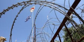 Εικόνα από τη Νεκρή Ζώνη στην Κύπρο (φωτ.: EPA/ Katia Christodoulou)