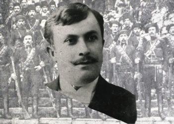 Η φωτογραφία του Παναγιώτη Ερμείδη είναι από τη συλλογή της Άννας Θεοφυλάκτου, στο Ιστορικό Αρχείο Προσφυγικού Ελληνισμού Δήμου Καλαμαριάς (εικ.: Γεωργία Βορύλλα)