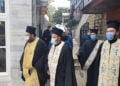 Το φέρετρο με τη σορό του Νίκου Μαγγίνα στο Φανάρι (φωτ.: Οικουμενικό Πατριαρχείο)