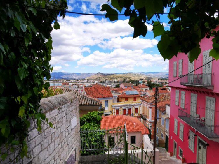 Εικόνα από την πόλη του Ναυπλίου (φωτ.: ΑΠΕ-ΜΠΕ /Ευάγγελος Μπουγιώτης)