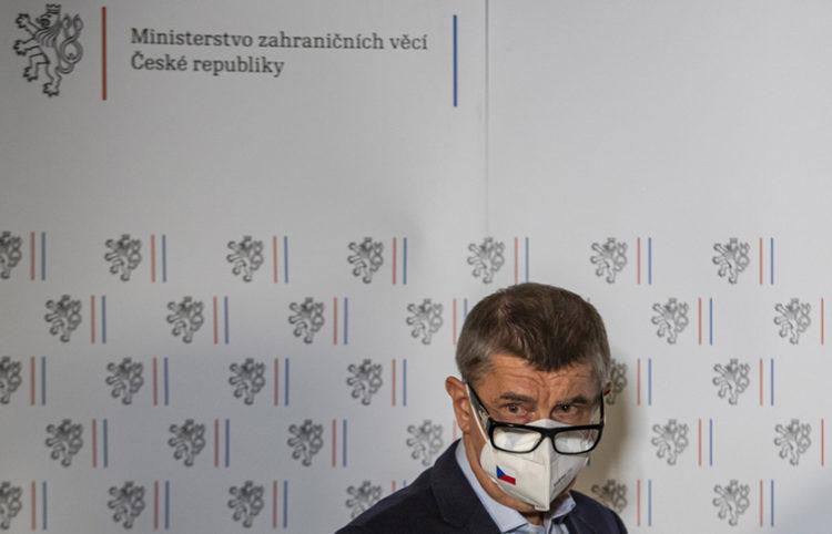 Ο πρωθυπουργός της Τσεχίας Αντρέι Μπάμπιτς (φωτ.: EPA / Martin Divisek)