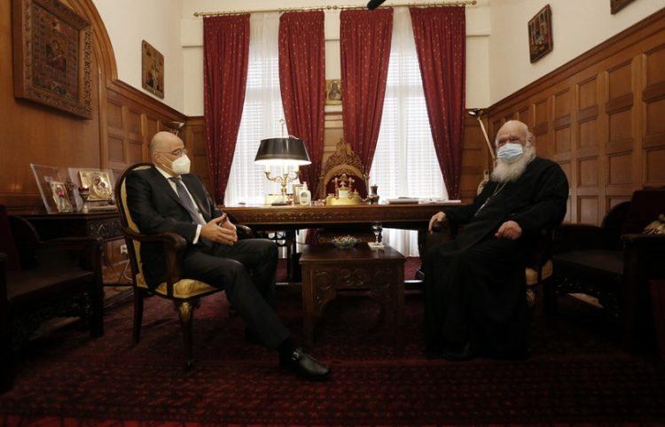 (Φωτ.: ΑΠΕ-ΜΠΕ / Αρχιεπισκοπή Αθηνών / Χρήστος Μπόνης)
