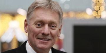 Ο εκπρόσωπος του Κρεμλίνου Ντμίτρι Πεσκόφ (φωτ.: ΑΠΕ-ΜΠΕ/ EPA/ Shamil Zhumatov)