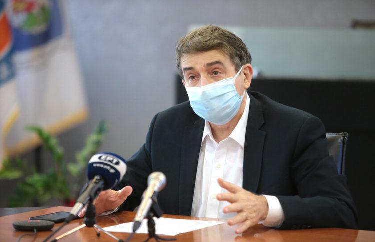 Ο υπουργός Προστασίας του Πολίτη Μιχάλης Χρυσοχοΐδης (φωτ. αρχείου: ΑΠΕ-ΜΠΕ/Παντελής Σαίτας)