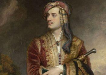 Ο Λόρδος Βύρωνας (από πίνακα του Τόμας Φίλιπς)