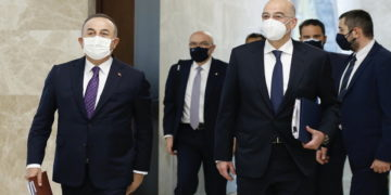 (Φωτ.: ΑΠΕ-ΜΠΕ/ EPA/ Turkish Foreign Minister)