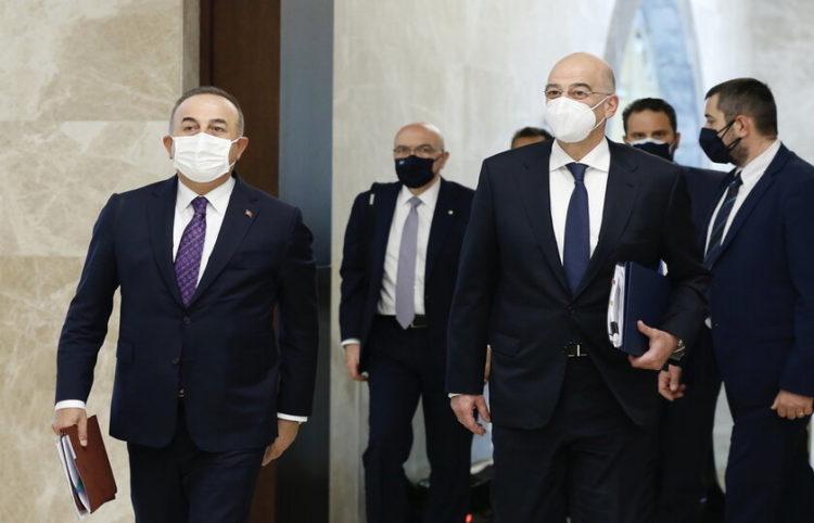 (Φωτ.: ΑΠΕ-ΜΠΕ/ EPA/ Turkish Foreign Minister)