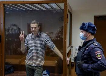 Ο Αλεξέι Ναβάλνι (φωτ. αρχείου: ΑΠΕ-ΜΠΕ/ EPA/ Yuri Kochetknov)