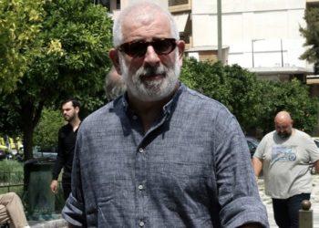 Ο ηθοποιός Πέτρος Φιλιππίδης (φωτ.: ΑΠΕ-ΜΠΕ / Συμέλα Παντζαρτζή)