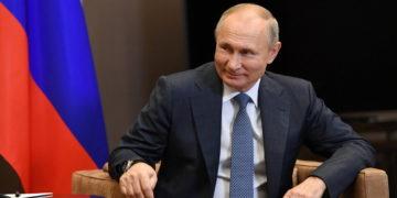 (Φωτ.:  EPA/ Alexei Nikolsky/ Sputnik/ Kremlin Pool)