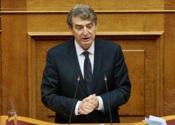 Ο υπουργός Προστασίας του Πολίτη Μιχάλης Χρυσοχοΐδης (φωτ. αρχείου: ΑΠΕ-ΜΠΕ/ Παντελής Σαΐτας)