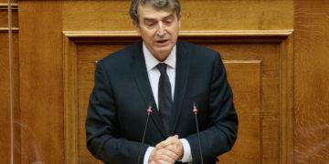 Ο υπουργός Προστασίας του Πολίτη Μιχάλης Χρυσοχοΐδης (φωτ.: ΑΠΕ-ΜΠΕ/ Παντελής Σαίτας)