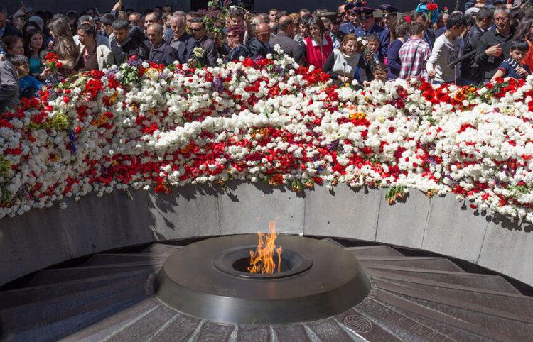 Το μνημείο Γενοκτονίας στο Γερεβάν (φωτ.: Serouj Ourishian)