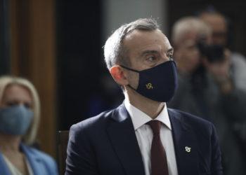 Ο Κωνσταντίνος Ζέρβας (φωτ.: ΑΠΕ-ΜΠΕ/ Δημήτρης Τοσίδης)