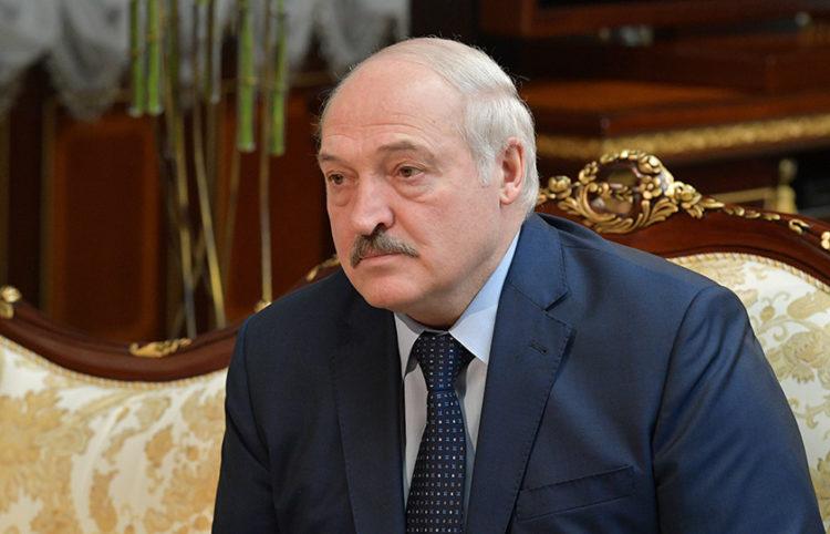 Ο Αλεξάντερ Λουκασένκο (φωτ.: EPA / Alexander Astafyev / Sputnik)