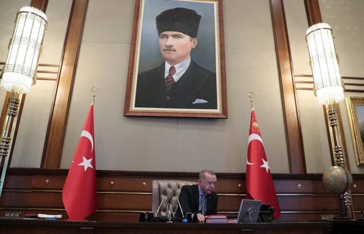 (Φωτ.: Γραφείο Τύπου Προεδρίας της Τουρκίας)