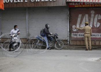 Ο κορονοϊός στην Ινδία (φωτ.: ΑΠΕ-ΜΠΕ/ EPA/ Farooq Khan)