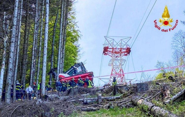 (Φωτ.: EPA/ITALIAN FIRE AND RESCUE SERVICE / HANDOUT)