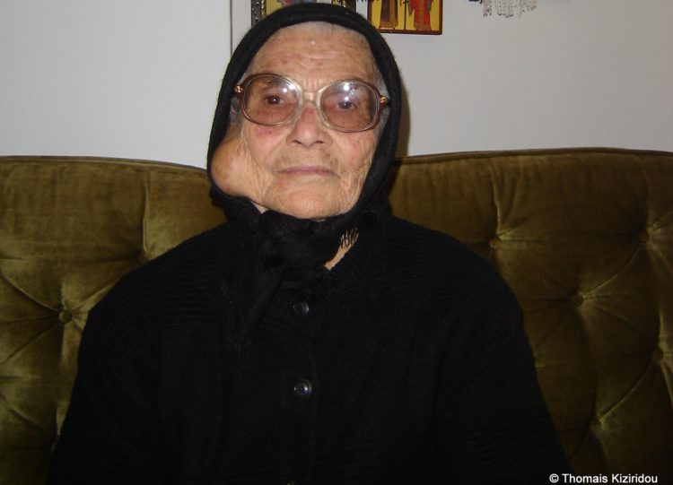 Η Μαρία Μπαϊραμίδου (φωτ.: Θωμαΐς Κιζιρίδου)