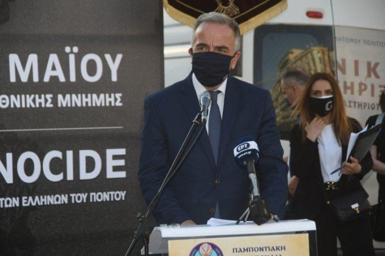Ο υφυπουργός Μακεδονίας & Θράκης Σταύρος Καλαφάτης (φωτ.: Φίλιππος Φασούλας)