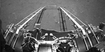 (Φωτ.: Twitter / Chinese Zhurong Mars Rover)