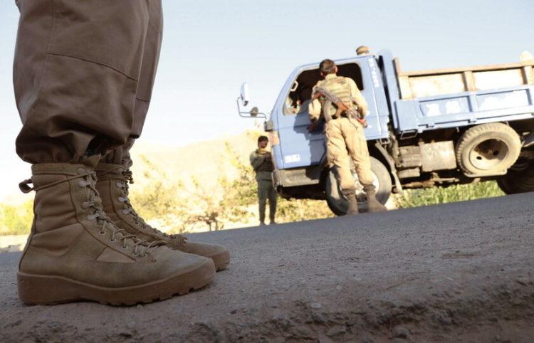 Αστυνομία στο Αφγανιστάν κάνει ελέγχους κατά του ISIS (φωτ. Αρχείου: ΑΠΕ-ΜΠΕ/ ΕΡΑ/ Muhammad Sadiq)