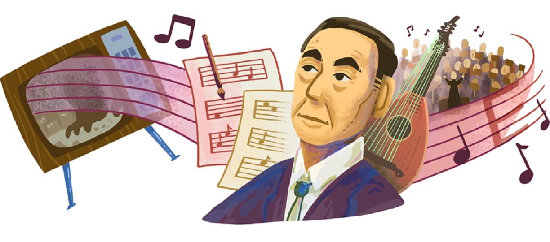 Το doodle της Google για τον Ιάπωνα συνθέτη