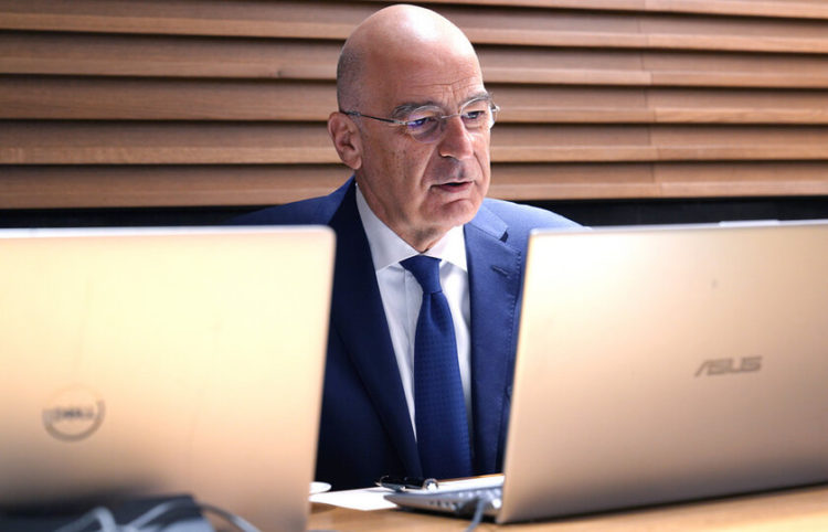 (Φωτ.: ΑΠΕ-ΜΠΕ/ Υπουργείο Εξωτερικών/ Χάρης Ακριβιάδης)