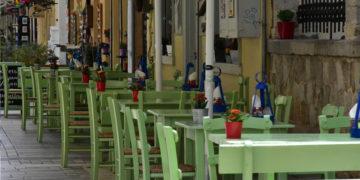 Καταστήματα εστίασης, στο Ναύπλιο (φωτ.: ΑΠΕ-ΜΠΕ/ Ευάγγελος Μπουγιώτης)