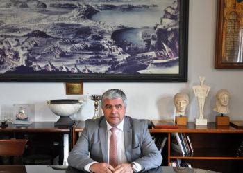 Ο δήμαρχος Πρέβεζας Νίκος Γεωργάκος (φωτ.: Δήμος Πρέβεζας)