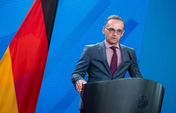 Ο Γερμανός υπουργός Εξωτερικών Χάικο Μάας (φωτ. αρχείου: EPA/ Bernd von Jutrczenka)