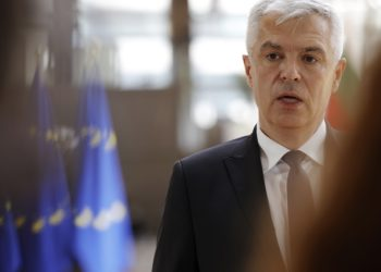 Ο υπουργός Εξωτερικών της Σλοβακιας Ιβάν Κόρτσοκ (φωτ.: EPA / Olivier Matthys)
