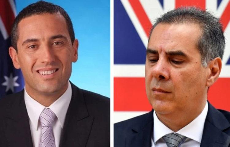 Τομ Κουτσαντώνης και Κορχάν Καρακότς (πηγή: Νέος Κόσμος)