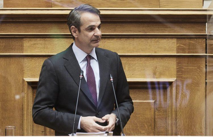 (Φωτ.: ΑΠΕ-ΜΠΕ / Γραφείο Τύπου πρωθυπουργού / Δημήτρης Παπαμήτσος)