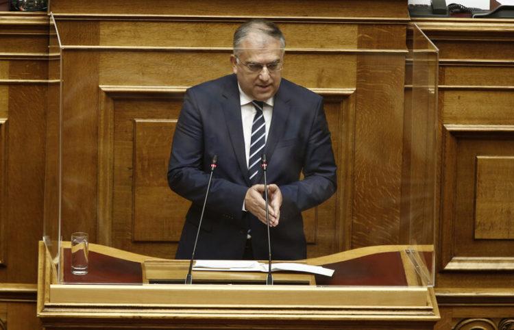 Ο βουλευτής της ΝΔ Τάκης Θεοδωρικάκος (Φωτ. αρχείου: ΑΠΕ-ΜΠΕ/ Αλέξανδρος Βλάχος)