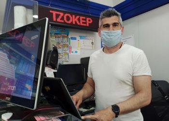 Ο Δημήτρης Τριανταφυλλίδης, ιδιοκτήτης του πρακτορείου ΟΠΑΠ στο Αγρίνιο