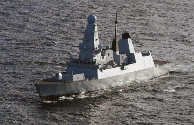 (Φωτ.: British Royal Navy)